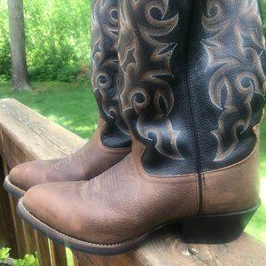 Tony Lama Mastic 13 inch Cowboy boots size 10.5D